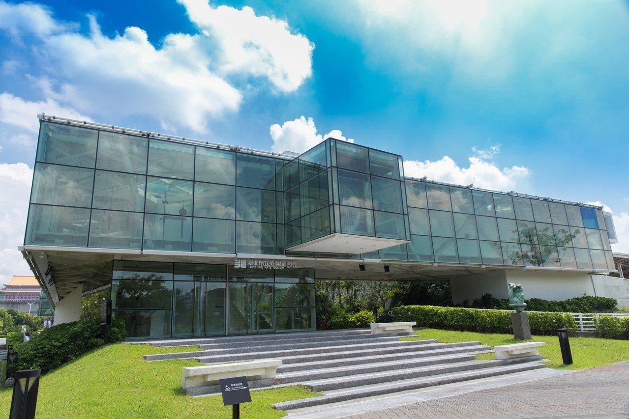 台北市立美術館去年新建南進門,讓觀眾進入美術館更便利。圖/北美館提供