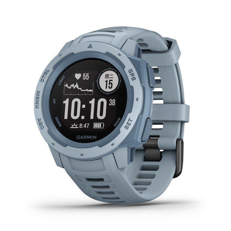 Garmin Instinct本我系列GPS腕表,建議售價9,880元。圖/Ga...