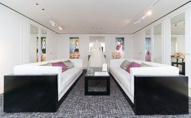麗晶精品B1 Wedding Salon VIP尊榮貴賓室。圖/麗晶精品提供