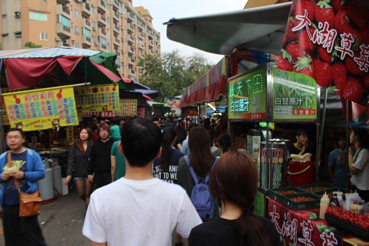 台灣小吃店滿地開花。記者張雅婷/攝影