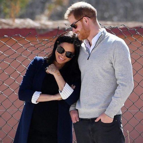 哈利王子與梅根馬克爾常在個人Instagram分享動態。圖/摘自IG