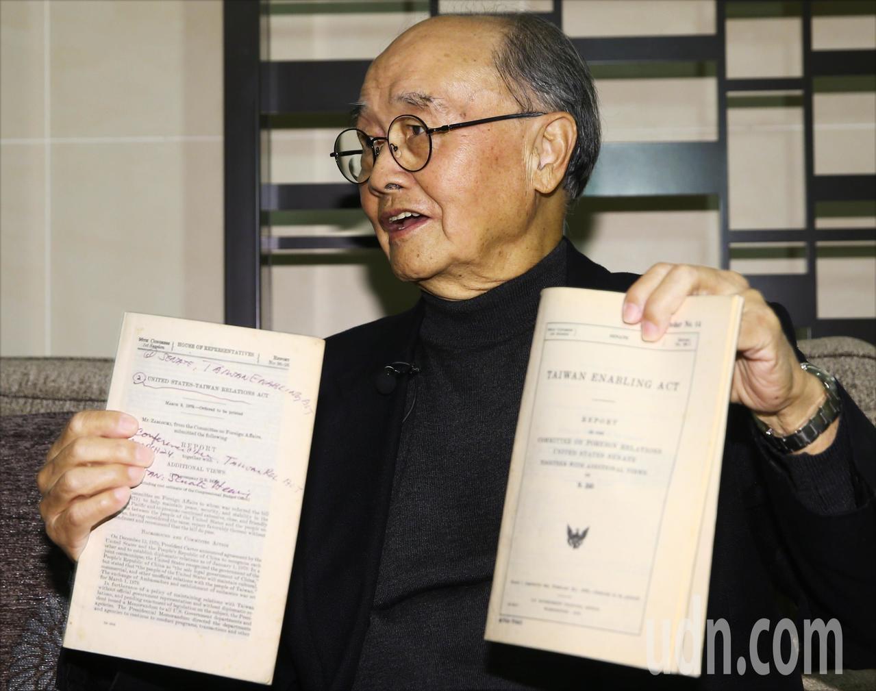 今年是台灣關係法簽署40周年,當時擔任駐美大使館政治組一等秘書的程建人回憶點點滴...