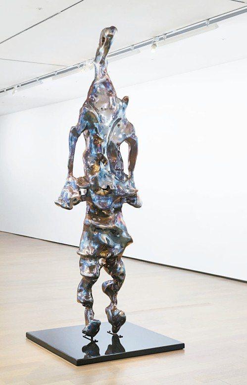 展望暌違6年,於今年1月再次於誠品畫廊舉辦個展。 記者陳立凱/攝影