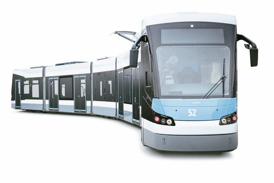 榮獲紅點大獎的Avenio M Ulm輕軌電車。 紅點/提供