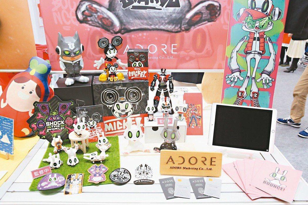 2019日本授權展展出設計師Bounce作品「棒小兔」首次登日本展現台灣街頭潮流...