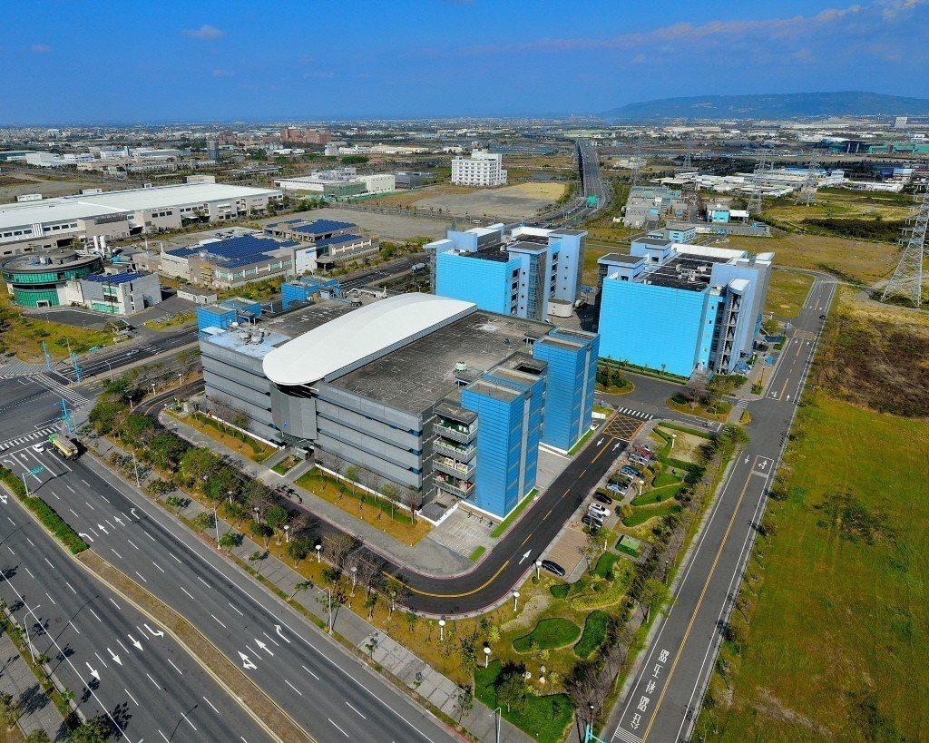 圖為華邦電子公司將進駐高雄科學園區的12吋晶圓廠。圖/高雄市經發局提供