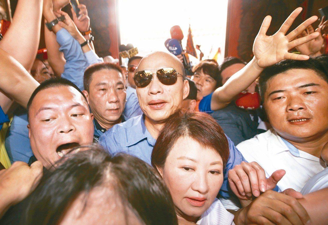 高雄市長韓國瑜。 記者余承翰/攝影