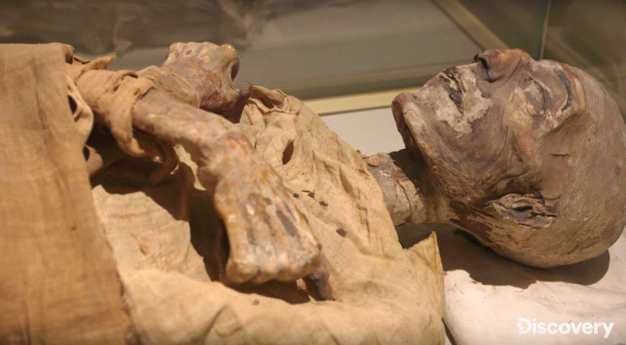 美國探索頻道播出「追謎探險隊:埃及古墓直播」(Expedition Unknow...