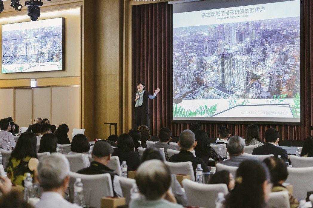 現場黎淑婷院長表示,雲華這棟建築將為台中市帶來新的綠色影響力。