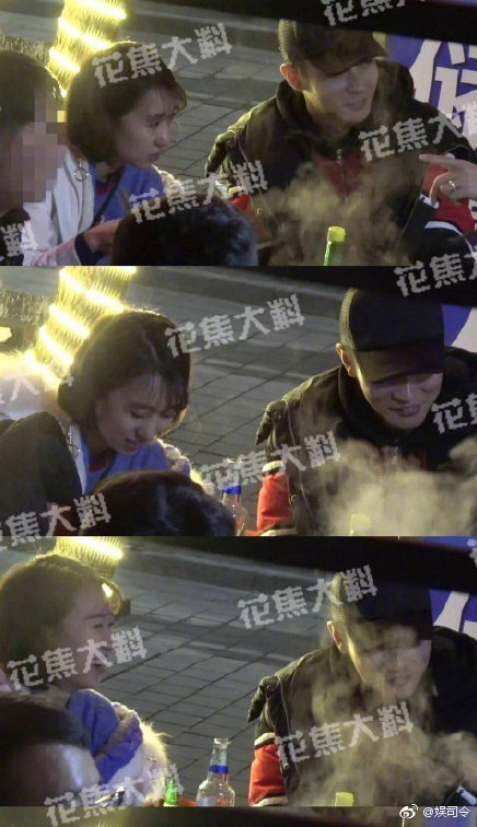 張丹峰與經紀人畢瀅。圖/擷自微博