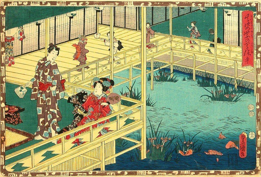 中國飼養鯉魚的風俗流傳至日本後,變種鯉魚與金魚,同樣引起日本人的重視,並且逐漸發...