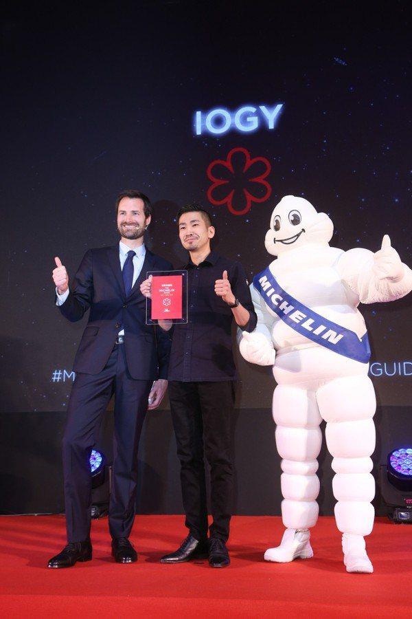 台北米其林2019一星餐廳「lOGY」。圖/聯合報
