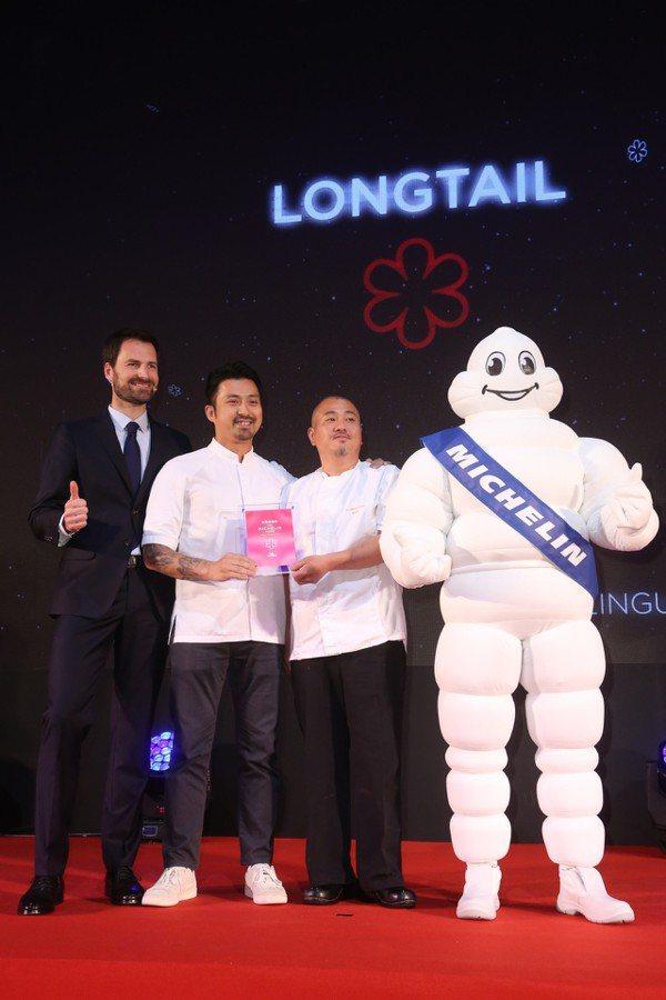 台北米其林2019一星餐廳「LONGTAIL」。圖/聯合報