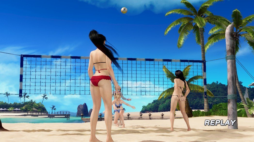 沙灘排球還是此遊戲的主要核心玩法,若要玩得很高端也可以說是很講究。