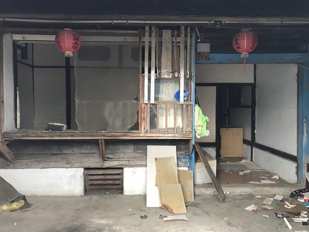 部分建物保存還算完整。記者王燕華/攝影 記者王燕華/攝影