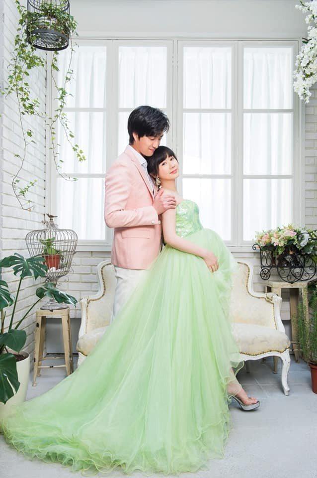 江宏傑(左)、福原愛結婚2年多。圖/摘自臉書