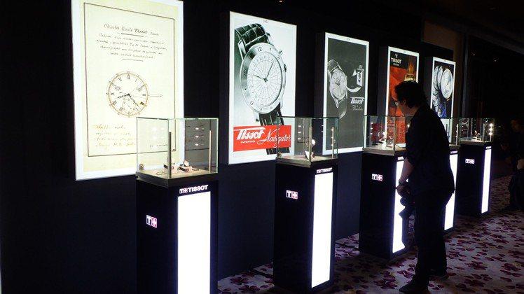 天梭表在吉隆坡舉辦地區性的新品發表會活動,從現場的展品即可感到,復刻是今年的主題...