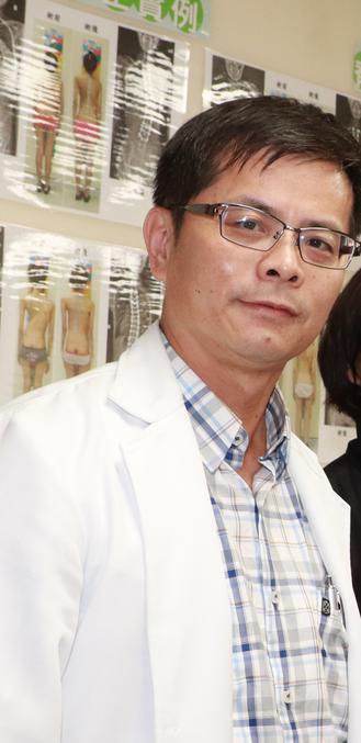 台中市大里仁愛醫院骨科醫師吳啟明說,因為老人髖部骨折會影響行動力,若不動手術,很...