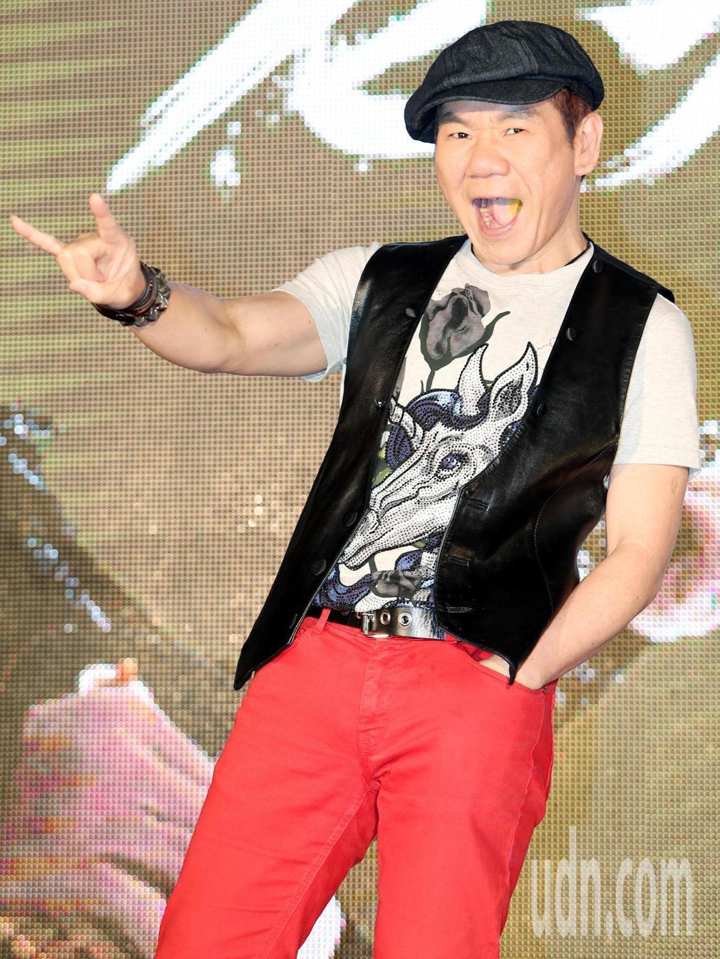搖滾老男孩趙傳宣布8月17日首度站上台北小巨蛋。記者侯永全/攝影