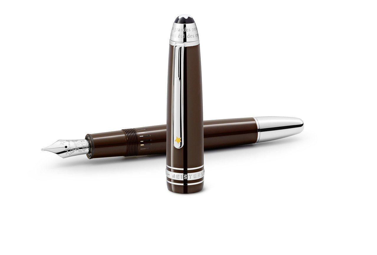 萬寶龍大師傑作小王子系列珍貴樹脂LeGrand鋼筆,約25,500元。圖/Mon...