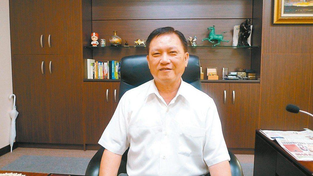 泰碩董事長余清松 (本報系資料庫)