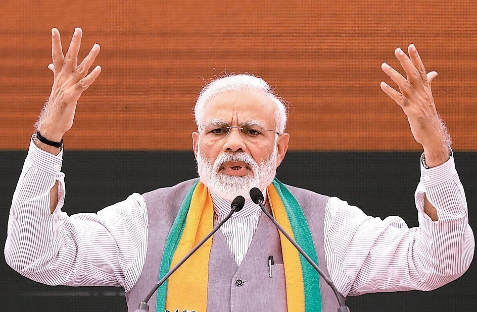 印度總理莫迪 歐新社