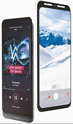 華碩正在研發的新款滑蓋5G手機。圖擷自Evan Blass