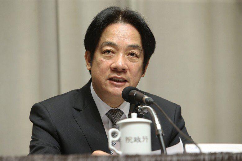 2017年底,時任行政院長的賴清德,宣示2018年將啟動台灣「行政區重劃」的研議。 圖/聯合報系資料照