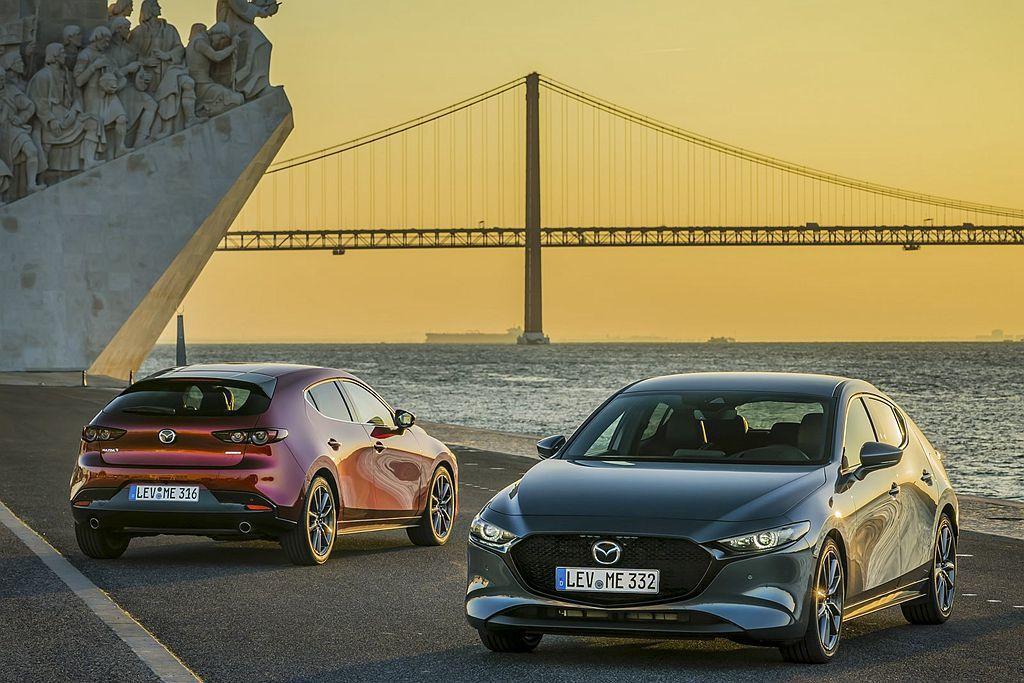 全新第四代Mazda3在台灣市場正式展開預售,接單價自新台幣81萬元起。 圖/M...