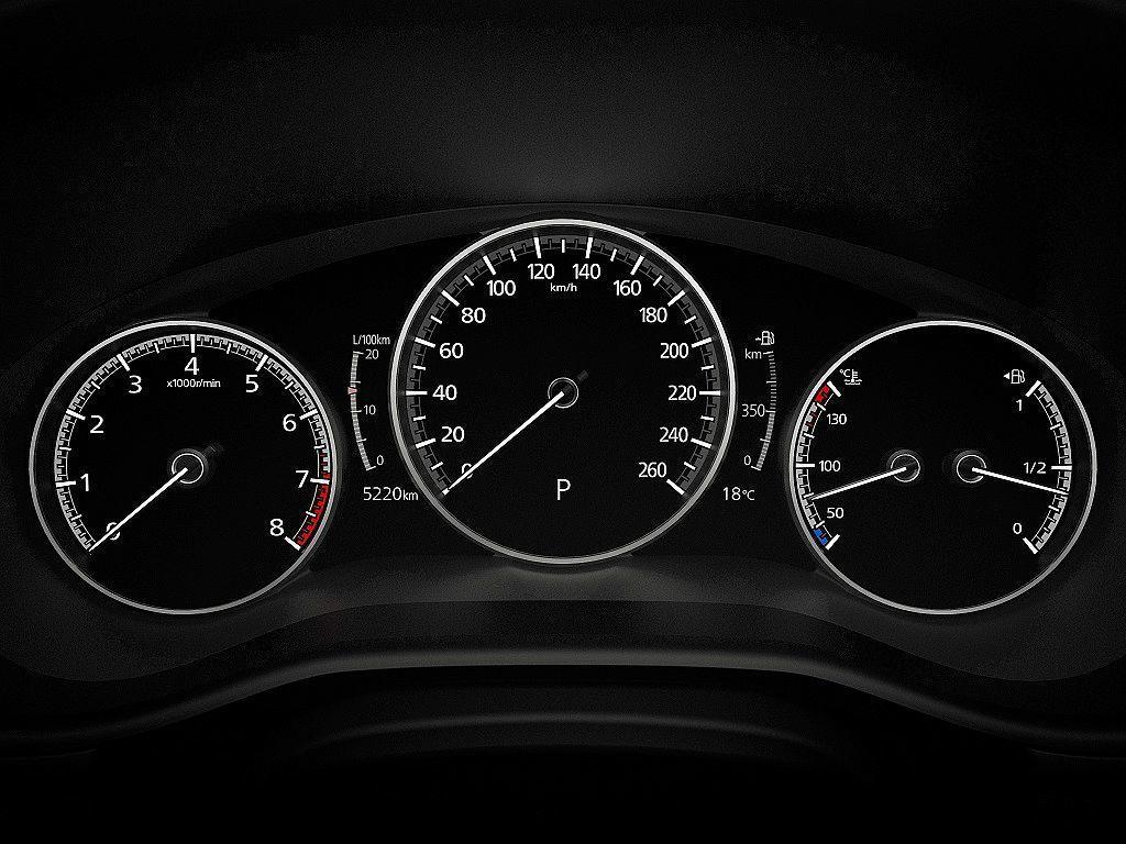 全新Mazda3擘劃資訊顯示更豐富的全新7吋TFT全彩數位儀錶,並配置Winds...