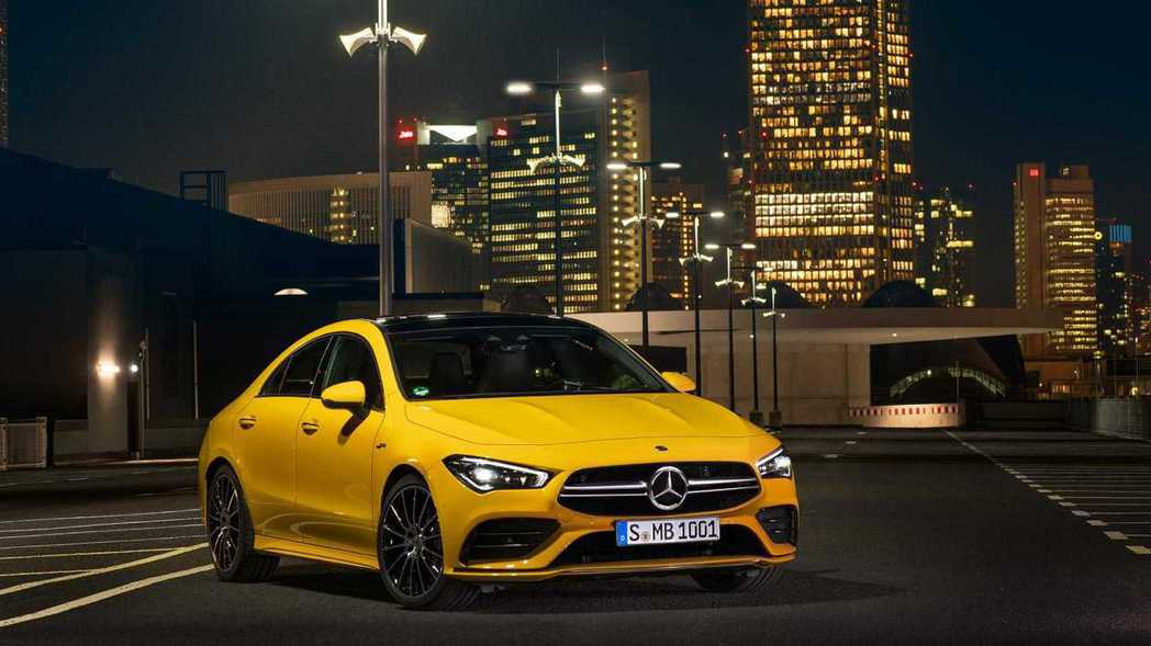 Mercedes-AMG CLA 35 4MATIC。 摘自Mercedes