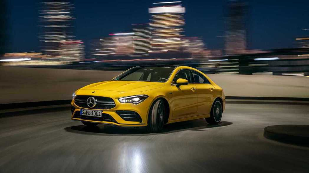 Mercedes-AMG CLA 35 4MATIC將與A35 Sedan共同於...