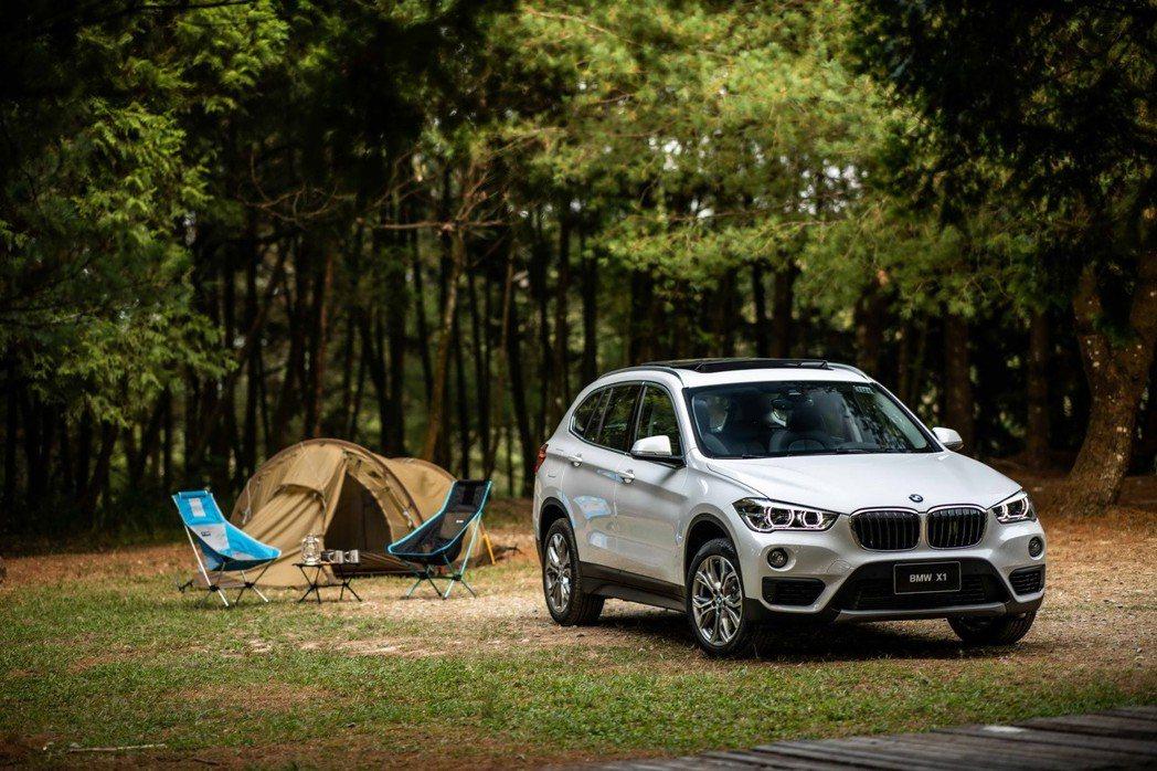 全新BMW X1領航版提供60期分期優惠與限量頂級飯店住宿券。 圖/汎德提供