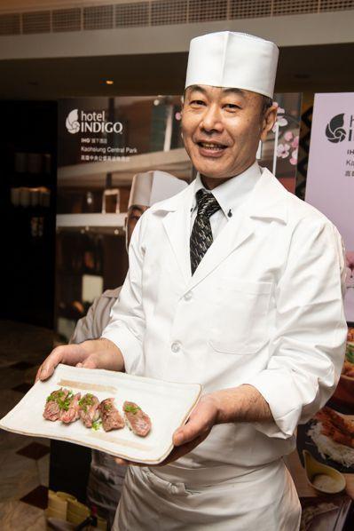 擁有40年料理經驗的田中師傅大推阪南市浪花黑牛,每月產出六頭以內,且僅有一至兩頭...
