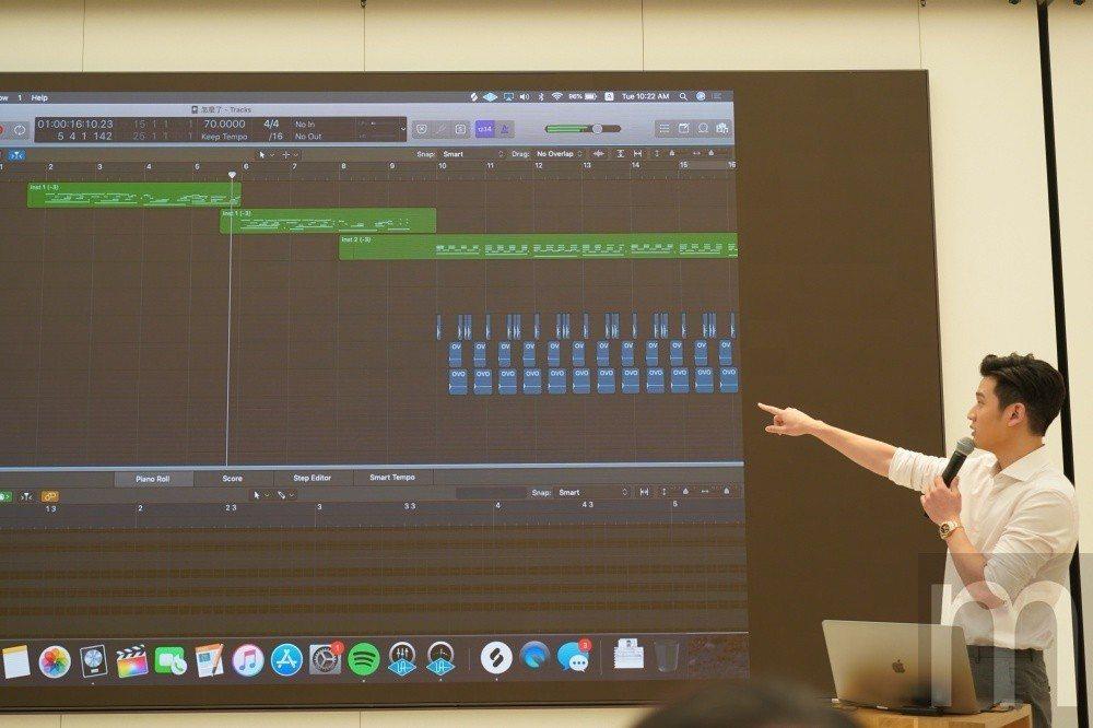 分享藉由MacBook Pro進行創作
