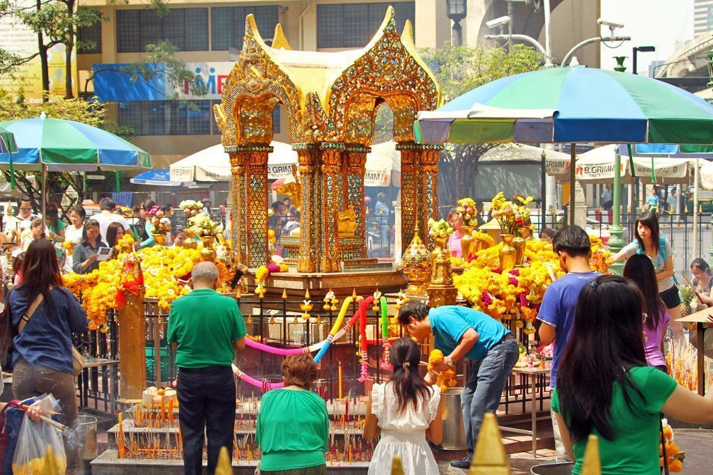 愛樂威四面佛 圖/bangkok.com