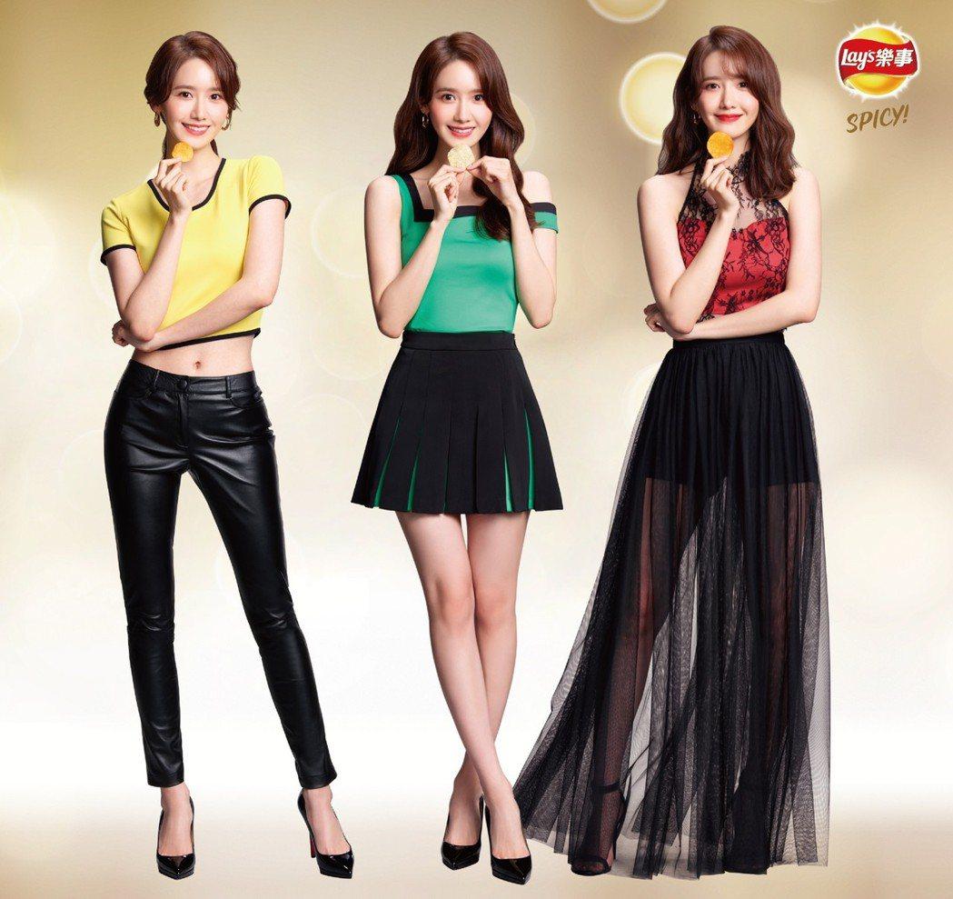 潤娥首次接下洋芋片廣告。圖/聯勤公關提供