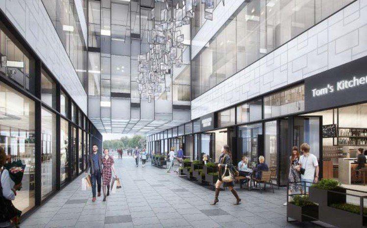 宏匯廣場將在一樓打造咖啡廊道。圖/宏匯廣場提供