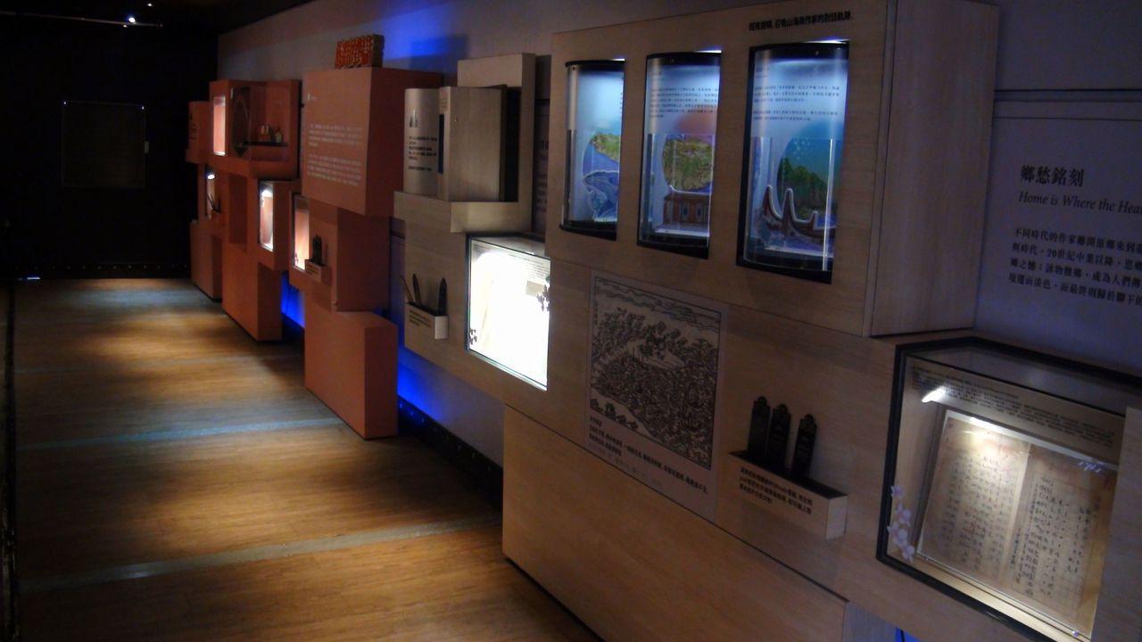 台灣文學行動博物館利用數位科技,讓民眾與文學作家們產生互動連結。記者王昭月/攝影