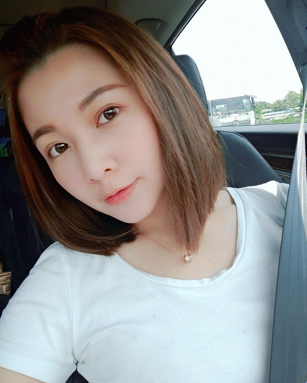 謝京穎最近為戲剪去留了8年的長髮,俏麗模樣受好評。圖/民視提供