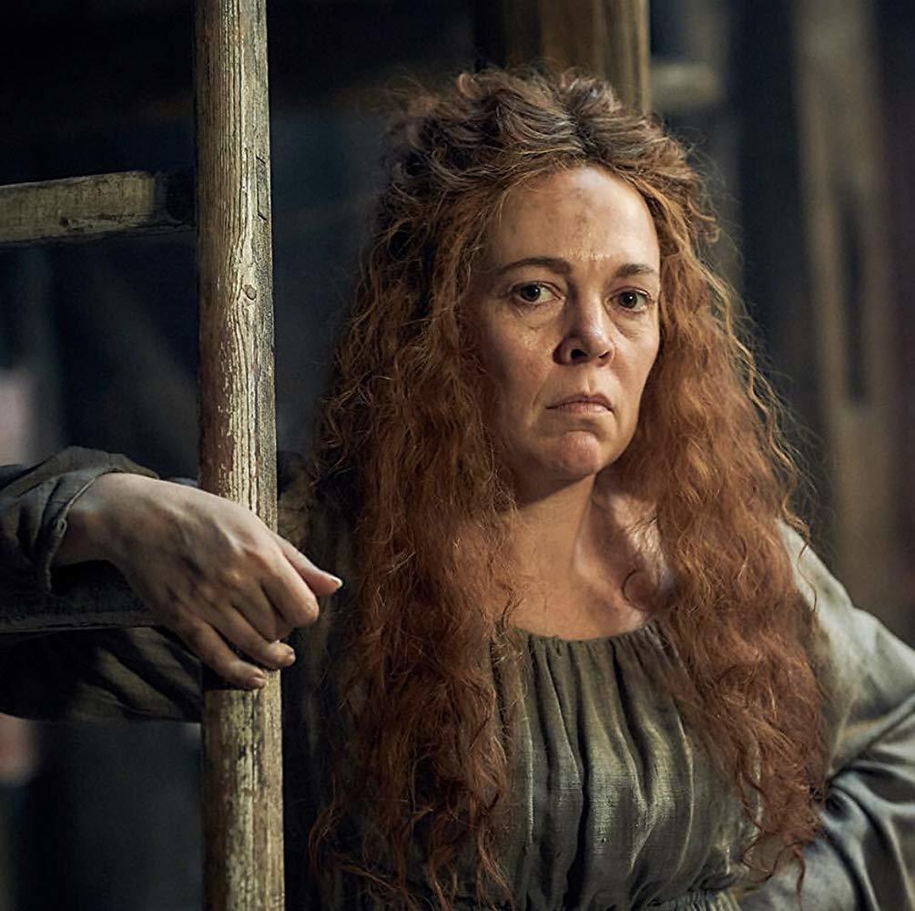 新科奧斯卡影后奧莉薇雅柯爾曼在「悲慘世界」飾演心機反派。圖/摘自imdb