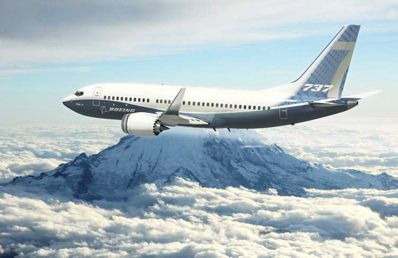 波音737MAX。 (取材自波音公司網站)