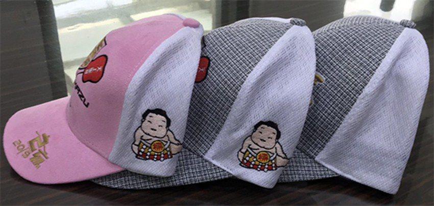 崇銘紡織公司研發、製造108年度大甲媽發行限量版帽款及紀念帽款之白色網洞布料,受...