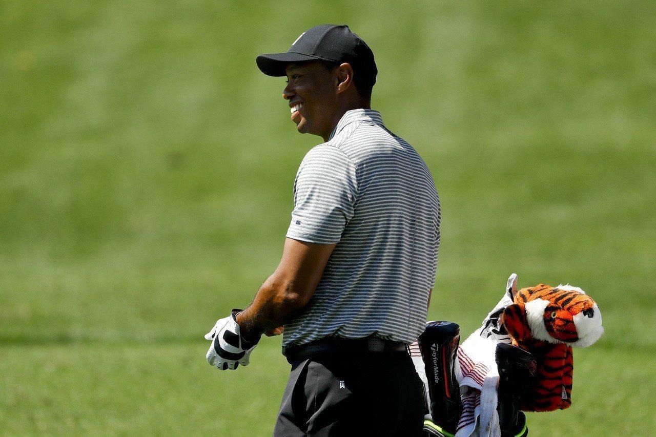 美國名人賽將於美東時間11日開打,老虎伍茲(Tiger Woods)生涯第22次...