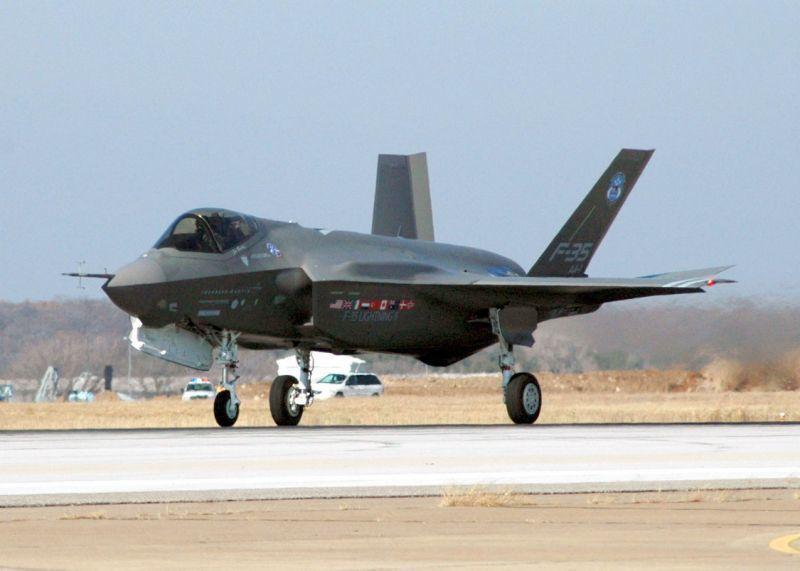 F-35是全球目前性能最先進的新一代戰機。法新社