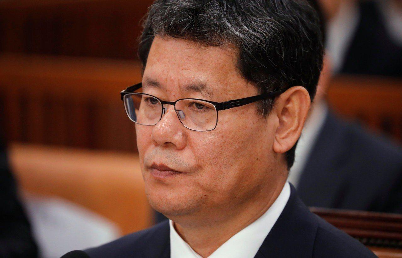 學者金煉鐵出任南韓統一部長。 路透社