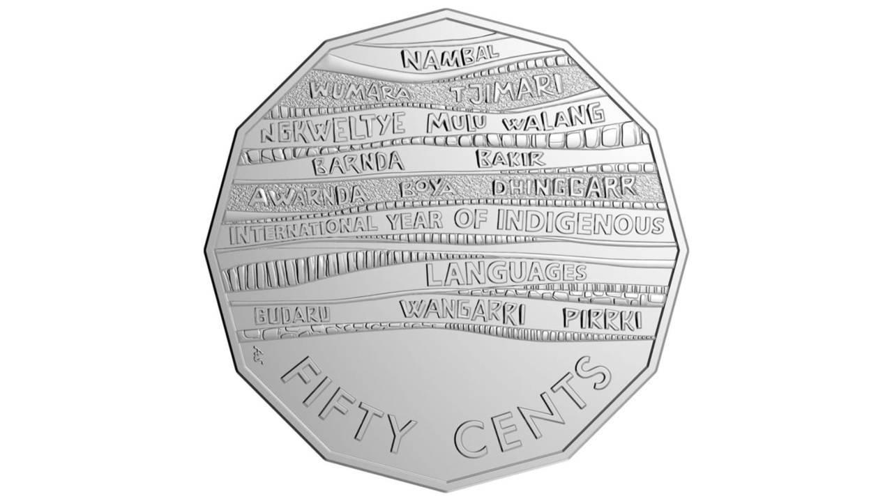 澳洲發行新版50分硬幣。 圖/擷自CNN