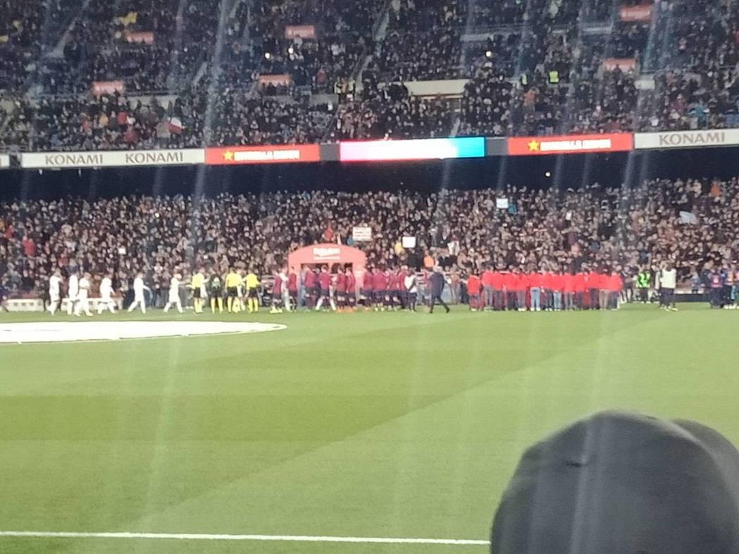 典藏旅遊貴賓Y先生在皇馬欣賞精彩足球賽的相片分享。典藏旅遊/提供