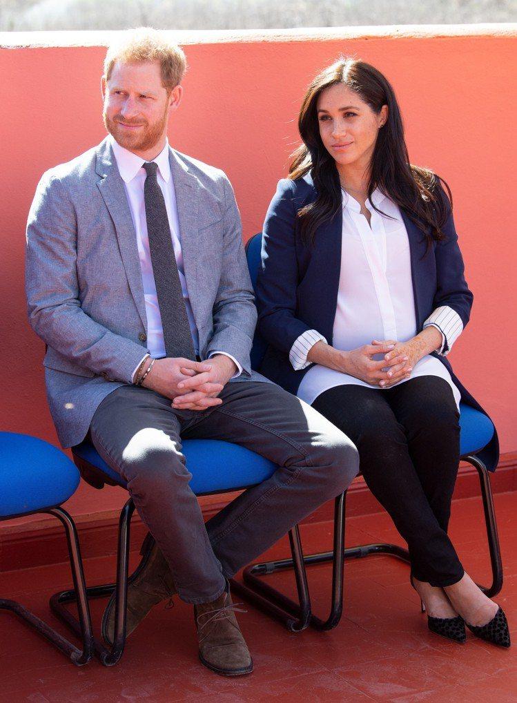 哈利王子和梅根的孩子即將出生。圖/達志影像