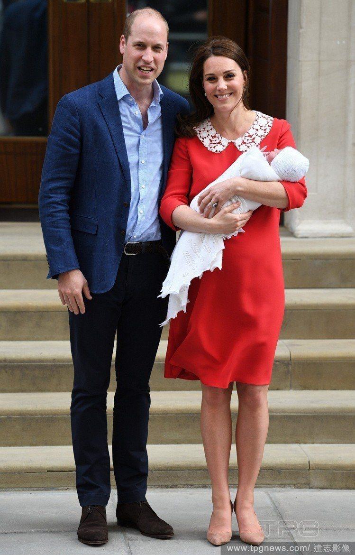 凱特王妃去年生完孩子7小時後就穿著高跟鞋亮相。圖/達志影像